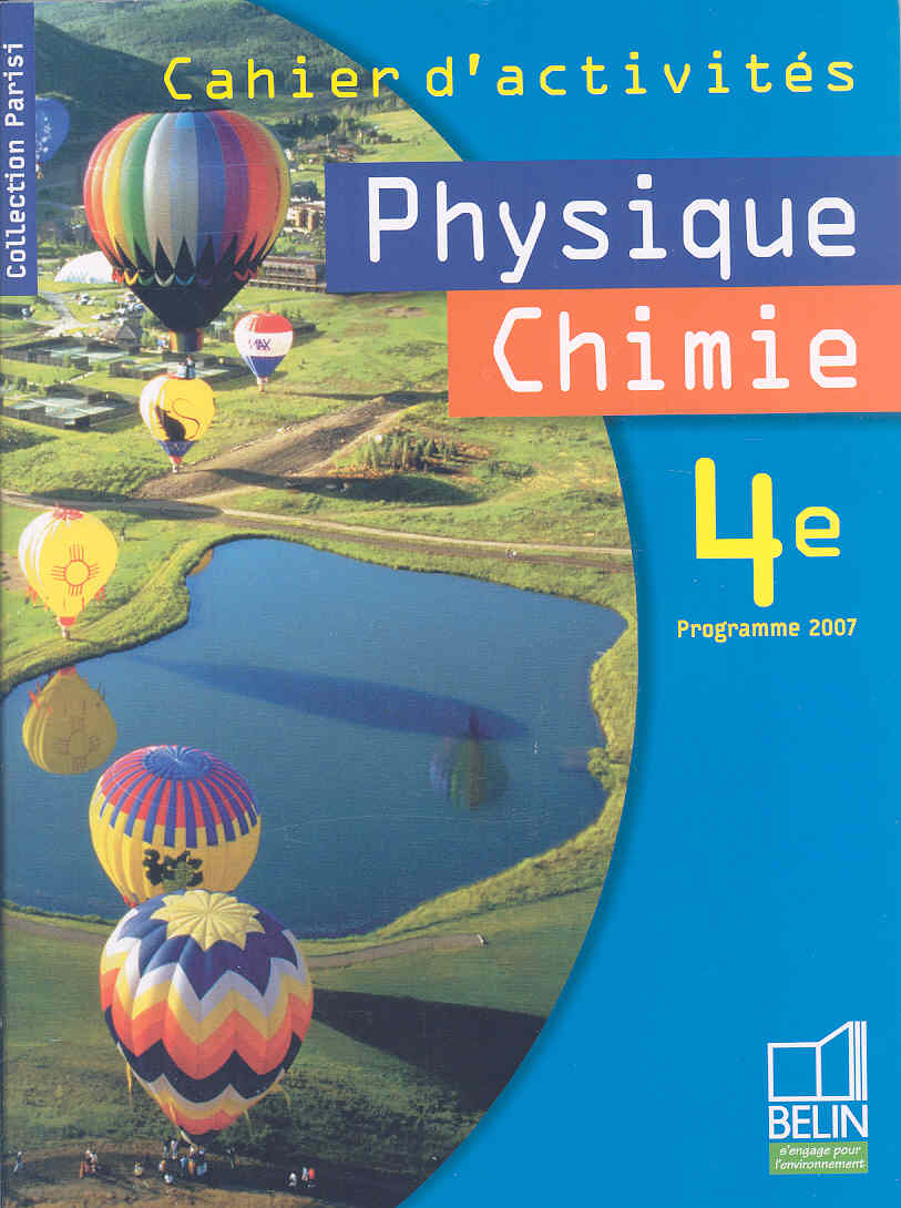 Physique Chimie By Parisi, Jean-marie/ Borruto, Pascal/ Donadei, Eric